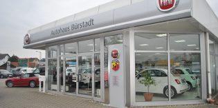 Seit 62 Jahren ist das Autohaus Bürstadt Fiat-Vertragshändler – und überzeugt bis heute durch Auswahl, Kompetenz und Service. Foto: Benjamin Kloos