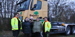 20 Jahre Dajaku Gartenbau – Familie Dajaku bedankt sich bei den langjährigen und neuen Kunden für ihr Vertrauen. Foto: Hannelore Nowacki