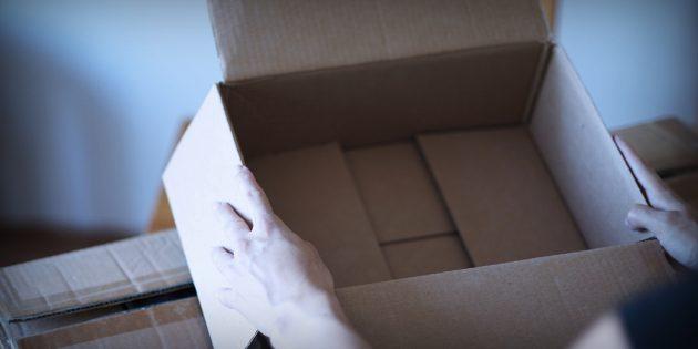 Einkauf im Fake-Shop: Paket ist leer - Geld weg. Foto: Polizei Rheinland-Pfalz