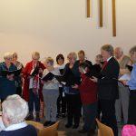 Bei der Weihnachtsfeier der Sängervereinigung 07/20 Hofheim e.V. durften Gesangvorträge nicht fehlen. Foto: oh