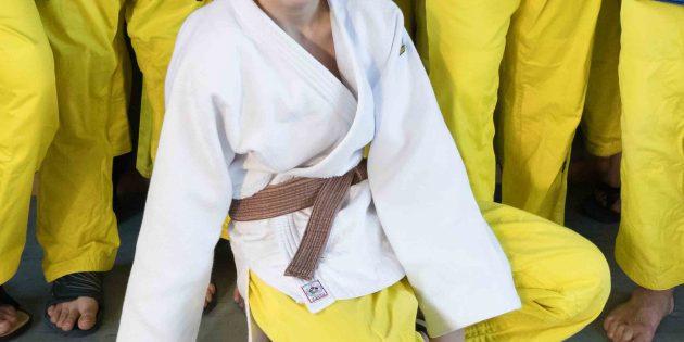 BUZ: Mohamed Asuev vom 1. Judo-Club Bürstadt belegt Platz 5 bei den U18 Hessenmeisterschaften. Foto: Stephan Müller