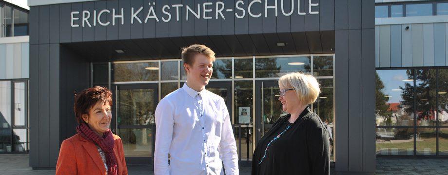 Adrian Schnellbächer dank Stipendium für ein Jahr in die USA