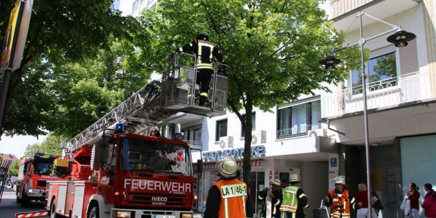 Brandalarm in der Kaiserstraße