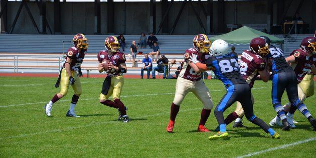BUZ: Die Mannschaft der U19 musste gegen Bad Homburg Sentinentals eine Niederlage einstecken. Foto: oh