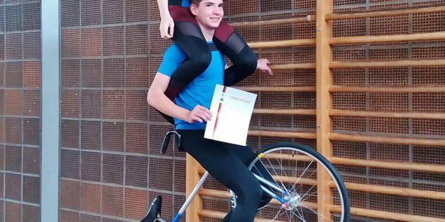 Anna Kreider und Tobias Bauer warteten bei den Deutschen Meisterschaften der Junioren mit einer starken Leistung auf. Foto: oh