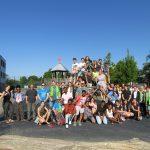 Die Jugendlichen und Familien aus dem Dekanat Bergstraße erlebten beim Deutschen Evangelischen Kirchentag schöne Stunden. Foto: oh