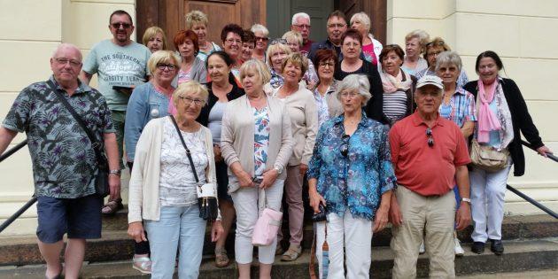 BUZ: Die Liederkranz 07-Mitglieder hatten erlebnisreiche Urlaubstage im schönen Spreewald. Foto: oh