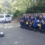 BUZ: Die Lampertheimer Jugendgruppe nahm wieder am Herbstseminar der THW-Jugend Hessen teil Foto: oh