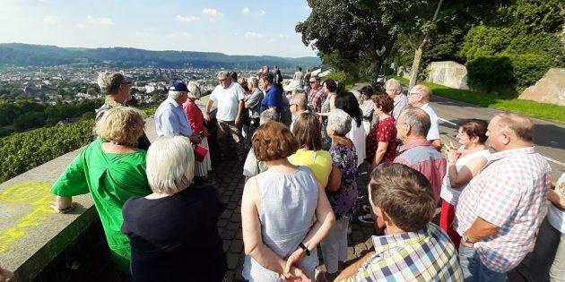 Der Jahrgang 52/53 genoss eine informative Fahrt zur Saarschleife und nach Trier. Foto: oh