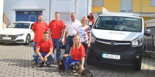 Bietet kompetenten Service rund um Heizungs- und Sanitärtechnik: Das Team der Engel Group aus Lorsch. Foto: Benjamin Kloos