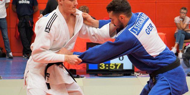 BUZ: Platz 1 für Nick Mattern vom 1. JCB bei den Hessischen Einzelmeisterschaften. Foto: oh