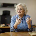 BUZ: Christine Lambrecht freut sich, dass ein Projekt beim Innovationswettbewerb des Bundesverkehrsministeriums aus der medizinischen Versorgung zum Zug kam, von dem auch der Kreis Bergstraße profitiert. Foto: photothek
