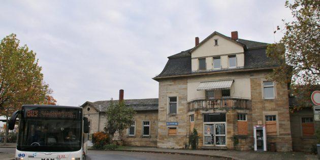 Beim Stadtumbau kommt der Umgestaltung des Bahnhofsumfeldes eine große Bedeutung zu. Archivfoto: Hannelore Nowacki