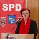 Sprach beim Neujahrsempfang der SPD Biblis in Nordheim: Die ehemalige Bundesentwicklungsministerin Heidemarie Wieczorek-Zeul. Foto: oh