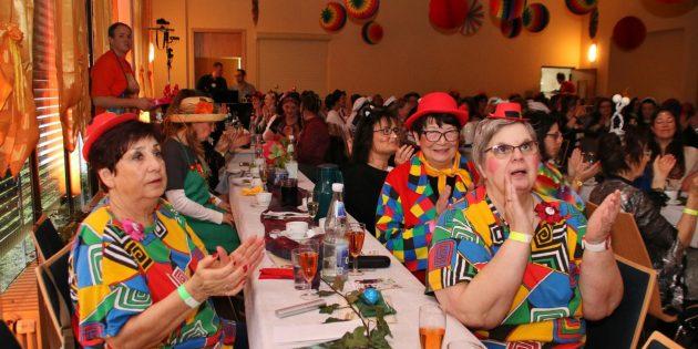 Beim BFC-Frauenfrühstück steht der Spaß an der Freude im Vordergrund. Foto: Hannelore Nowacki