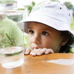 """Der diesjährige """"Tag der kleinen Forscher"""" findet digital statt – Kinder können am 16. Juni das Element Wasser kennen lernen und erforschen. Foto: Maria Feck / Stiftung Haus der kleinen Forscher"""