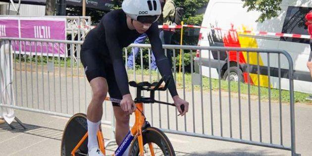 In der dritten Runde fuhr Moritz Czasa die schnellste Rundenzeit von allen Fahrern. Foto: oh