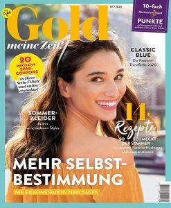 Gold erscheint monatlich mit einer Auflage von 191.403 Exemplaren (IVW 1/2020) und ist in bundesweit über 4.270 Netto-Filialen zu einem Preis von 0,66 Euro erhältlich. Das Magazin wird vom EDEKA Verlag produziert und vertrieben. Foto: Netto