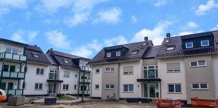 Im Rahmen eines Tages der offenen Tür stellt die BGLA am 22. August die neuen Wohnungen in der in der Erzbergerstraße 3 + 5 in Hofheim vor. Foto: oh