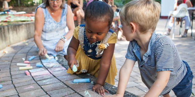 Drop In(klusive) bieten Raum für Begegnung und Spiel. Foto: Karl Kübel Stiftung
