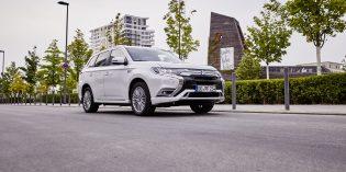 Überzeugt durch seine ausgefeilte Technologie: Der Mitsubishi Outlander Plug-in Hybrid. Foto: Mitsubishi