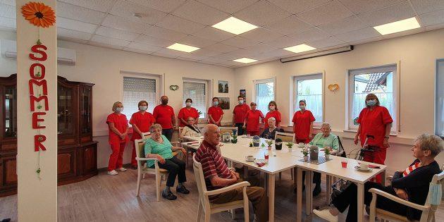 Das Team des Tagestreffs Hofheim gestaltet schöne Stunden für die Senioren aus dem Umkreis und sorgt für Abwechslung im Alltag. Foto: oh