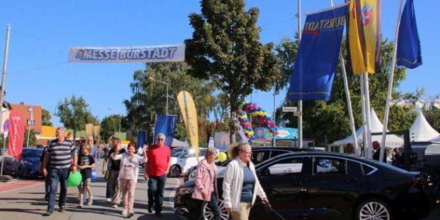 Die Messe Bürstadt, organisiert von der Wirtschafts- und Gewerbevereinigung, war bislang alle zwei Jahre ein Ereignis, das viele Besucher anzog. Archivfoto: Hannelore Nowacki
