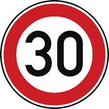 Temporäre Geschwindigkeitsbegrenzung in der Bahnhofstraße
