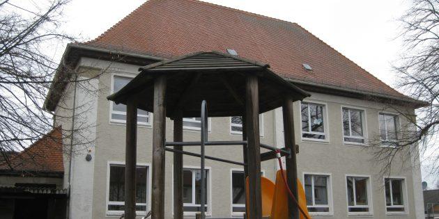 Das Gebäude des neuen Corona-Testzentrums in Lampertheim-Hofheim. Foto: oh