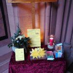 """Im Advent ist die """"Outdoor-Kirche"""" der Lukasgemeinde im Eingangsbereich der Domkirche wieder geöffnet. Foto: oh"""