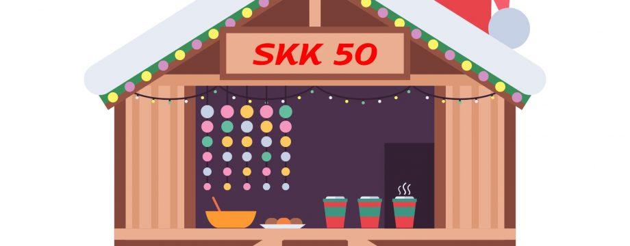 Macht sich am 11. und 12. Dezember auf den Weg, um ein Gefühl von Weihnachtsmarkt in Bürstadt zu vermitteln: Das SKK50-Weihnachtsmobil. Foto: oh