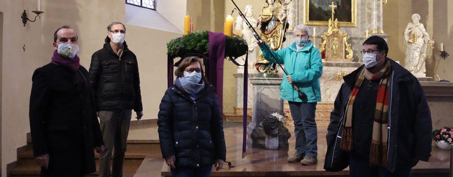 Die katholische Pfarrgruppe Lampertheim lädt zu Weihnachten ein – jeder ist nach Anmeldung herzlich willkommen. Foto: Benjamin Kloos