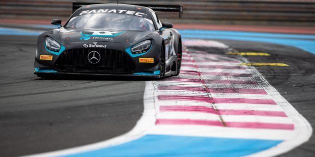 Marvin Dienst startet mit einem Mercedes AMG Evo in der GT World Challenge Europe. Foto: oh