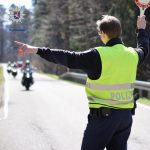 Die Polizei Südhessen kontrolliert auch in der Saison 2021 den Motorradverkehr. Foto: Polizeipräsidium Südhessen