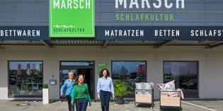 Fachkundig und individuell beraten werden Sie von Karin Bingenheimer, Christina Hake und Annick Löhr (v.l.), die sich auf Ihren Besuch freuen. Foto: oh