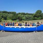 BUZ: Für die Kinder stand im Rahmen der Sommerferienaktion an der Schillerschule paddeln beim Wassersportverein auf dem Programm. Foto: oh