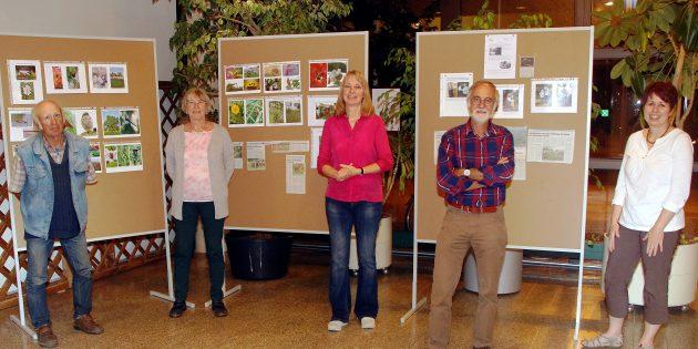 Der Vorstand des NABU Lampertheim: Walter Liesewitch, Gabriele Pietraß, Andrea Hartkorn, Klaus Feldhinkel und Anke Diehlmann. Foto: oh