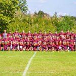 Jetzt sind sie endgültig in der Oberliga angekommen. Die Seniors der Bürstadt Redskins. Foto: Dirk Wilhelm, Redskins