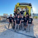"Das ""Dirt Torpedo""-Team der TU Darmstadt mit dem 21-jährigen Robin Christ aus Biblis. Foto: Team Dirt Torpedo / Florian Albinger"