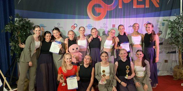 Die Tänzerinnen der JMC Formationen der TG Bobstadt belegten nach fast zwei Jahren ohne Turnier den ersten Platz und sicherten sich die deutsche Meisterschaft. Foto: oh