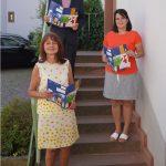 Landrat Christian Engelhardt mit Iris Hoch (links) und Melanie Knauf von der KVHS Bergstraße bei der Vorstellung des Herbstprogrammes im Landratsamt. Foto: oh