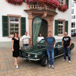 Der neu gewählte Vorstand von Lampertheim Classics e.V.. Foto: oh