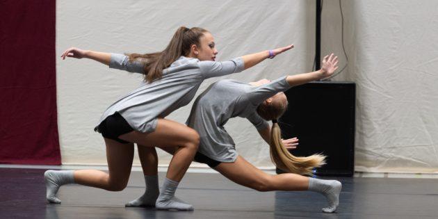 Beeindruckende Choreografien legten die Mädels aus Bobstadt aufs Parkett. Foto: Andreas Hoffmann