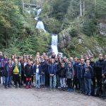 Die TV-Jugend erwanderte sich die höchsten Wasserfälle Deutschlands in Triberg. Foto: oh