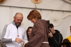 Proklamation der Bechtheimer Weinritterin Christine Westermann am 7. September 2019 001