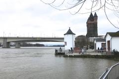 Rheinhochwasser am 7. Januar 2018 006