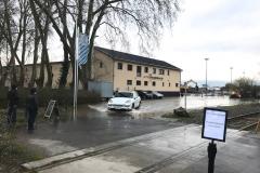 Rheinhochwasser am 7. Januar 2018 011