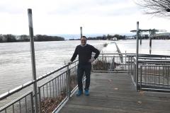 Rheinhochwasser am 7. Januar 2018 017