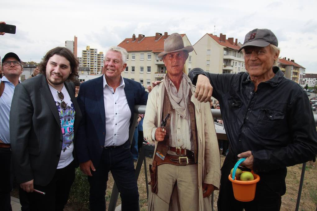 Terence Hill am 24. August 2018 in Worms 013