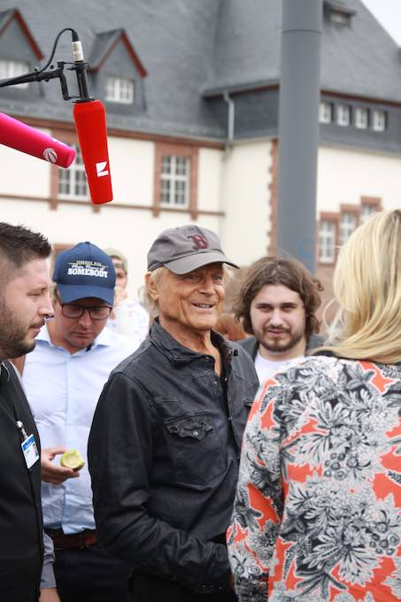 Terence Hill am 24. August 2018 in Worms 029